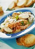 Kakavia (Greek fish soup)