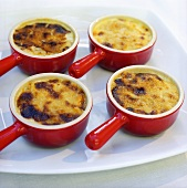 Jansson's Temptation (Swedish gratin) in dishes