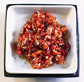 Spicy pepper mix (Pepper spread with chilli and onion)