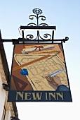 New Inn pub sign (Winchelsea, England)