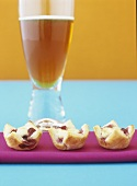 Cranberry cheese tarts