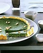 Watercress tart