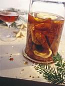 Christmas liqueur