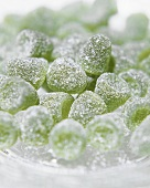 Menthol jelly sweets