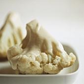 Cauliflower with white sauce