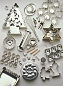 Baking tins and cutters