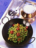 Nimona (spicy peas, India)