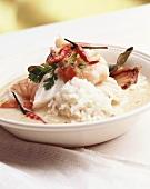 Malaysian shrimp laksa