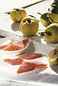 Quittenbrot (quince jelly sweets)