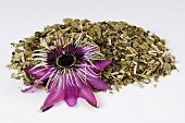 Passion flower and tea herbs