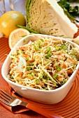 White cabbage salad