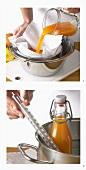 Making carrot juice
