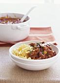 Beef goulash with macaroni