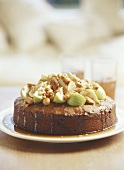 Fig and nut cake