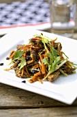Crispy Szechuan-style meat