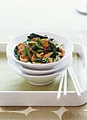 Chicken stir-fry with cashew nuts