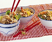 Bami goreng (fried noodles, Indonesia)