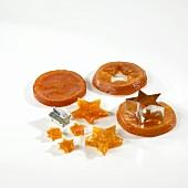 Candied orange stars