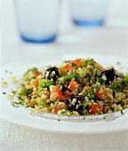 Tabbouleh (bulgur wheat salad)