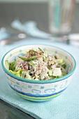Mixed raw vegetable salad
