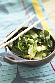 Pak choi with oyster sauce