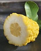 Half a citron