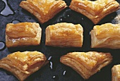 Jam puff pastries