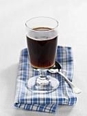 Coffee with Grappa