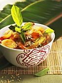 Suan la t'ang (Scharf-Saure-Suppe,China)