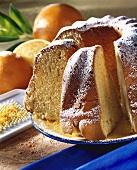 Orange ring cake
