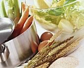 Ingredients for diabetic cuisine