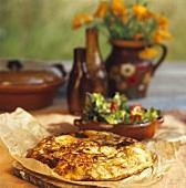 Tortilla de patata (potato omelette, Spain)