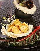Shellfish tempura