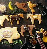 Animal biscuits for children