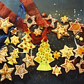 Baked tree ornaments