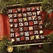 Domino Advent calendar