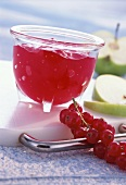 Redcurrant and apple jelly