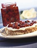Red berry jam