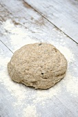Wholemeal rolls: dough
