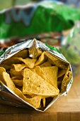 Tortilla chips in the packet
