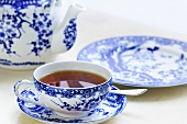 Tea in Chinese porcelain