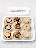 Mince pies (Christmas baking, UK)