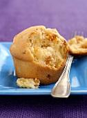 An apricot muffin