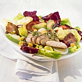 Cobb salad (Salad with chicken breast, America)