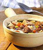 Pichelsteiner stew (A Bavarian speciality)