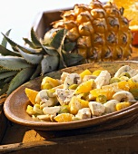 Fruity poultry salad