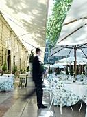 Terrasse in einem Hotel (Paris)