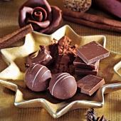 Pralinen, Schokolade & Zimt