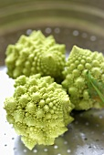 Steamed romanesco cauliflower