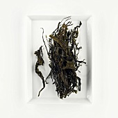 Getrocknete Algen-Fäden